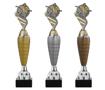 Sportprijzen Beker A320-PF200 Voetbal inclusief Gravering   met Zilver-Goud