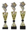 Sportprijzen Beker A326-PF200 Voetbal inclusief Gravering Zilver-Goud
