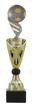 Sportprijzen Beker A326-PF227 Voetbal-Bal inclusief Gravering Zilver-Goud