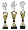 Sportprijzen Beker A326-PF100 Voetbal inclusief Gravering Zilver