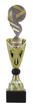 Sportprijzen Beker A326-PF229 Voetbal-Bal inclusief Gravering Zilver-Goud