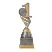 Bild von Platz 1 Sport Pokal PF220-M61  Silber Gold
