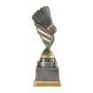 Bild von Badminton Sport Pokal PF230-M61  Silber Gold